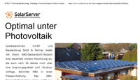 Optimal unter Photovoltaik